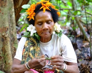 Bateq tribal woman