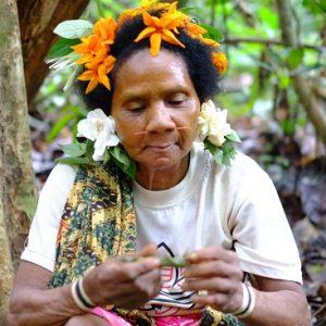 Bateq tribal woman