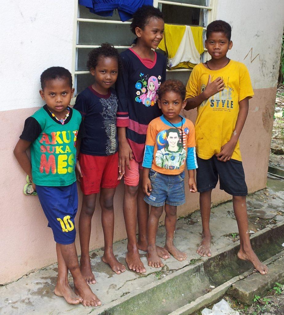 Batek forest tribe kids