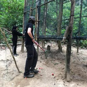 Gibbon Rehab Volunteer